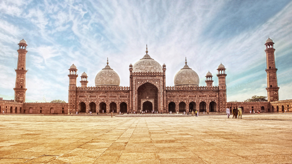 spectacular mosque