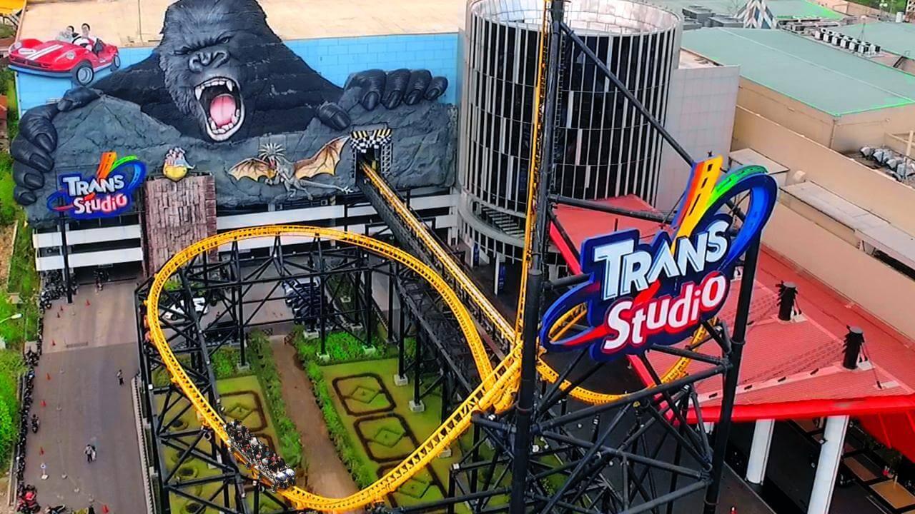 Indonesian theme park Trans Studio Bandung